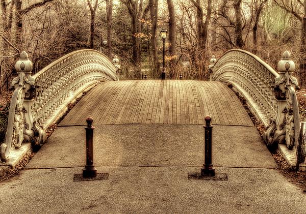 New York Photograph - Bridge by Ariane Moshayedi