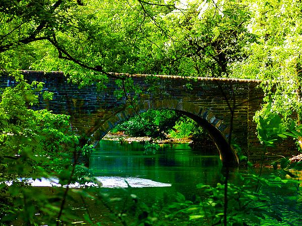 Philadelphia Photograph - Bridge Over The Wissahickon by Bill Cannon