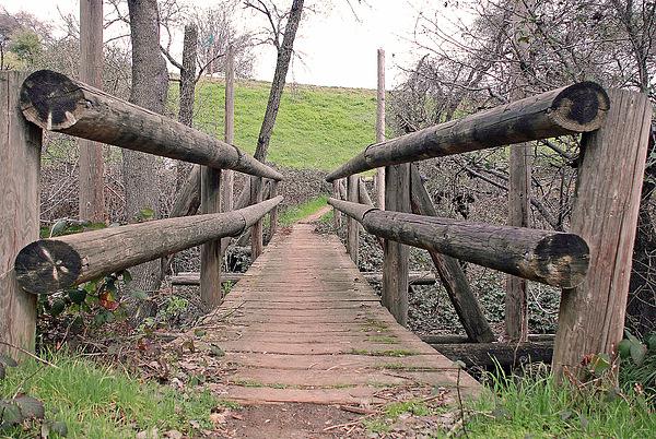 Bridge Photograph - Bridge To E by M Ryan