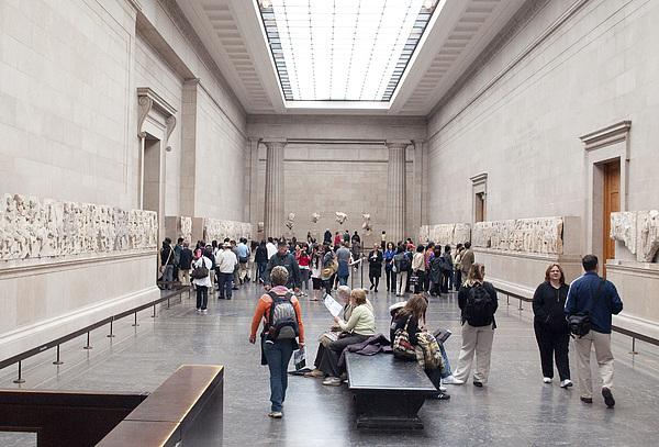 British Museum Photograph - British Museum Gallery 0056 by Charles  Ridgway