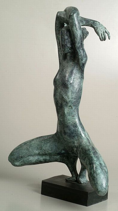 Nude Sculpture - Brken Symmetry by Daniel Baharier