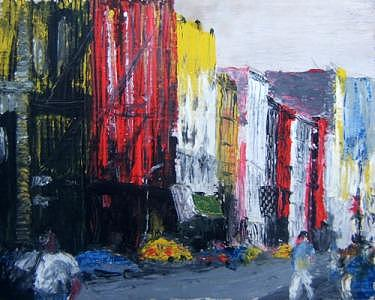 New York Painting - Broadway by Bill Nagel