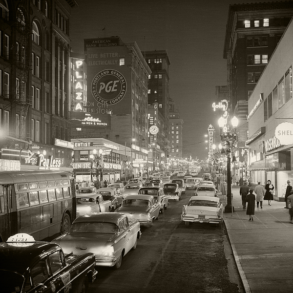 Broadway Photograph by Unknown