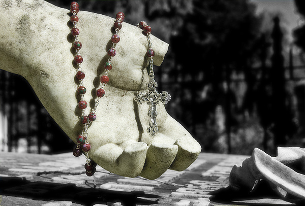 Religion Photograph - Broken Faith by Andrea LaRayne Etzel