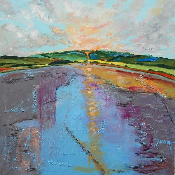 Expressive Painting - Broken Words by Sue Furrow
