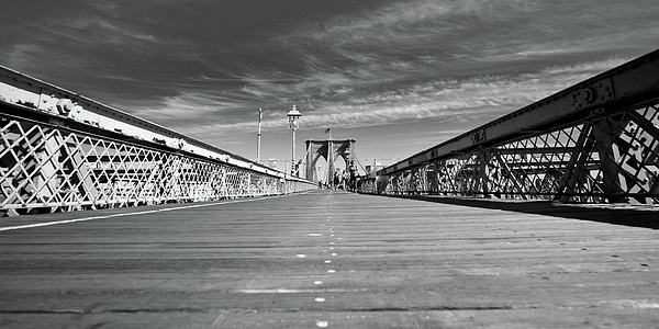 Bridge Photograph - Brooklyn Bound by David Hahn