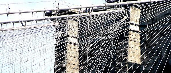 Brooklyn Bridge II Photograph by Oksana Pelts