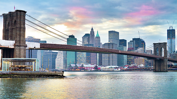 Horizontal Photograph - Brooklyn Bridge Restoration by Ryan D. Budhu
