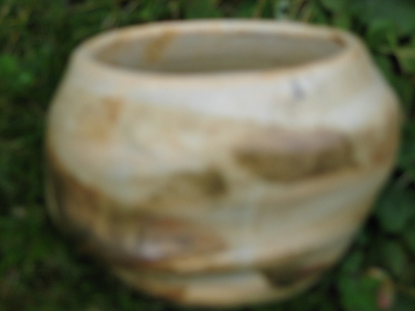 Altered-form Ceramic Art - Brown Altered-form Vessel  by Julia Van Dine