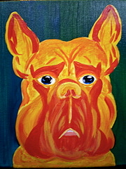 Pet Portraits Painting - Bubba by Suzanne Filotei