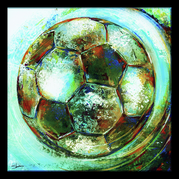 American Youth Soccer Organization Mixed Media - Buckminster by Shevon Johnson