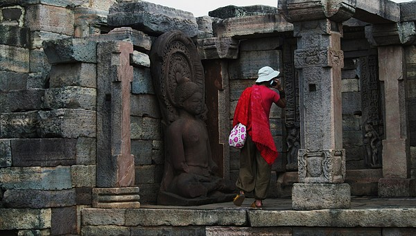 World Heritage Site Photograph - Buddha by Mohammed Nasir