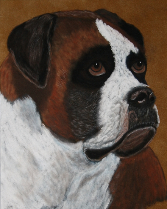 Buddy Painting by Lori DeBruijn