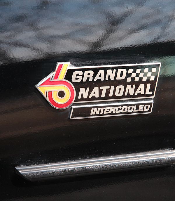 Buick Grand National Emblem Photograph By William Kuta