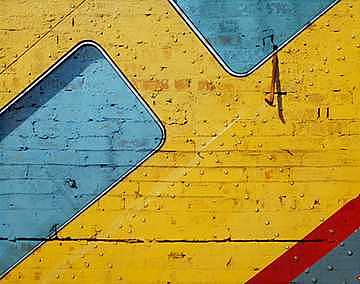 Urban Photograph - Bus Wall by Mark Reid