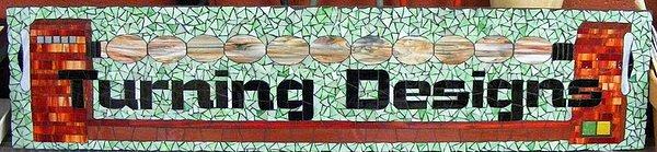 Mosaic Glass Art - Business Signs by Annie Thomas-Burke