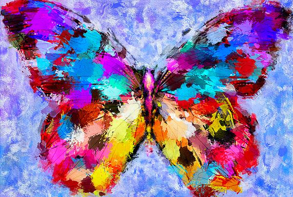 Butterfly Digital Art - Butterfly 2 by Yury Malkov