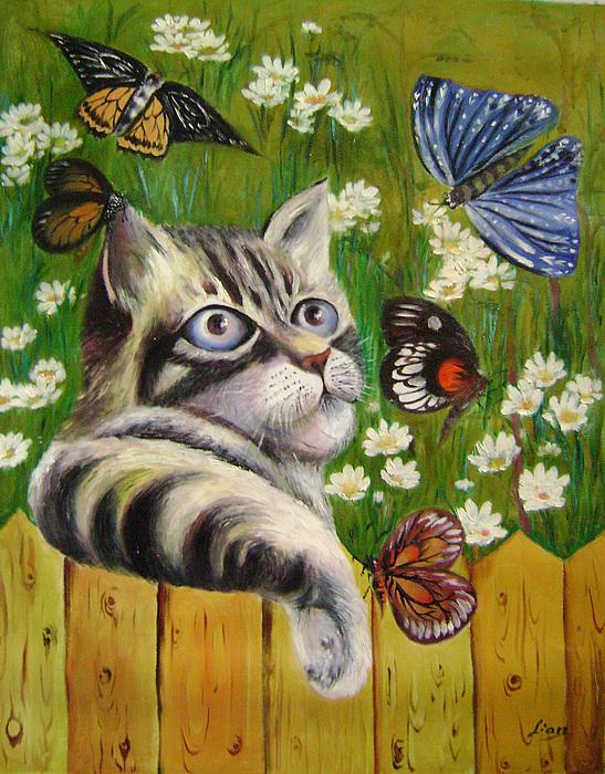 Fantasy Painting - Butterfly Dream by Lian Zhen