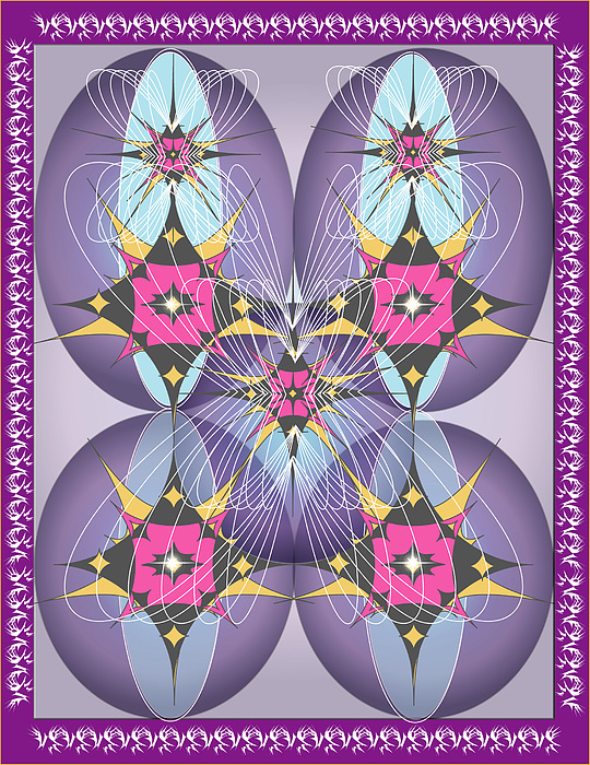 Giclee Digital Art - Butterfly2 by George Pasini