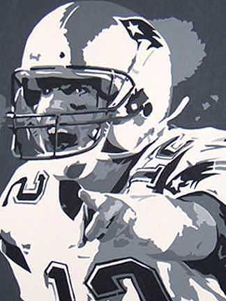 Football Painting - Cadence Call by Michael James  Toomy
