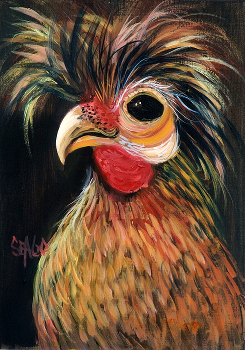 Barnyard Animals Painting - Caesar by Sally Seago
