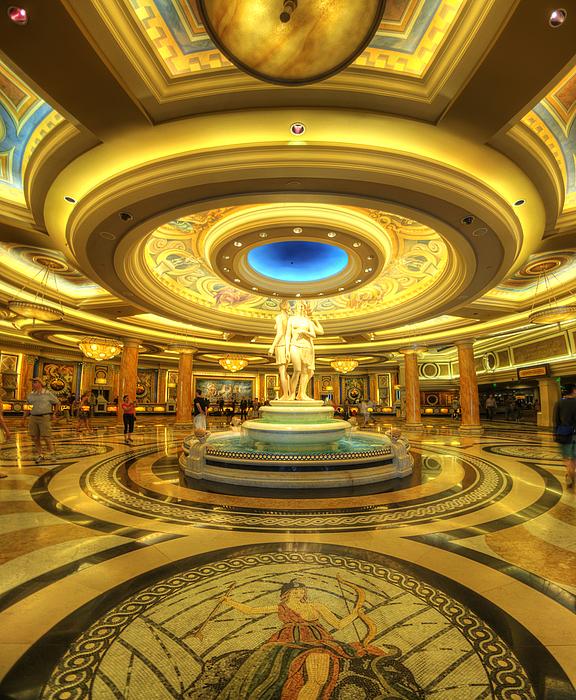 For Sale Photograph - Caesars Grand Lobby by Yhun Suarez