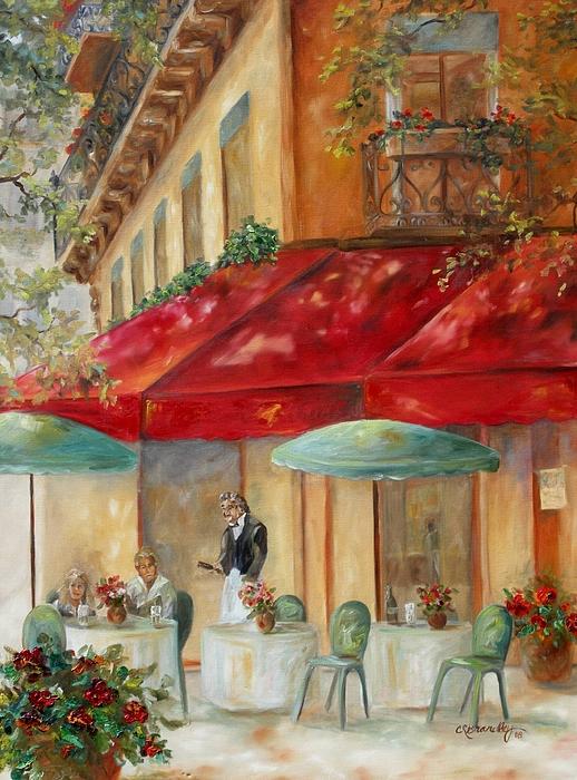 Paris Painting - Cafe Paris by Chris Brandley