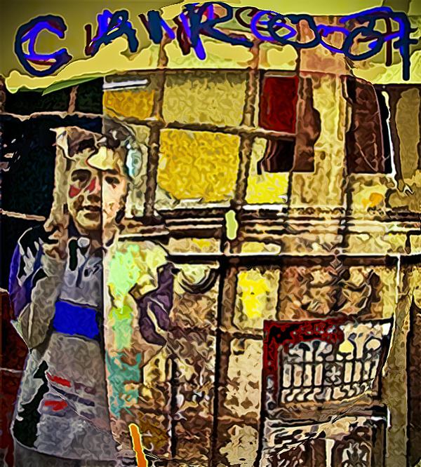 Cairo Painting - Cairo 07 by Noredin Morgan