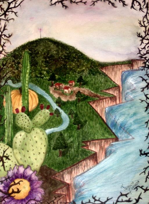 Calabazas Painting by Jessica  De la Torre
