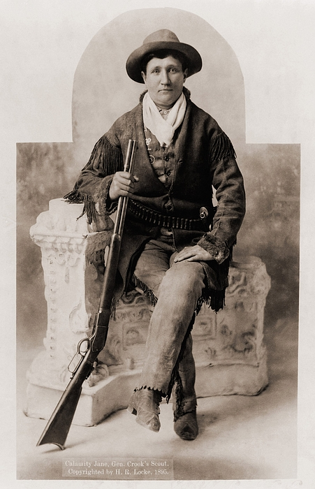 History Photograph - Calamity Jane 1852-1903, Was A Scout by Everett