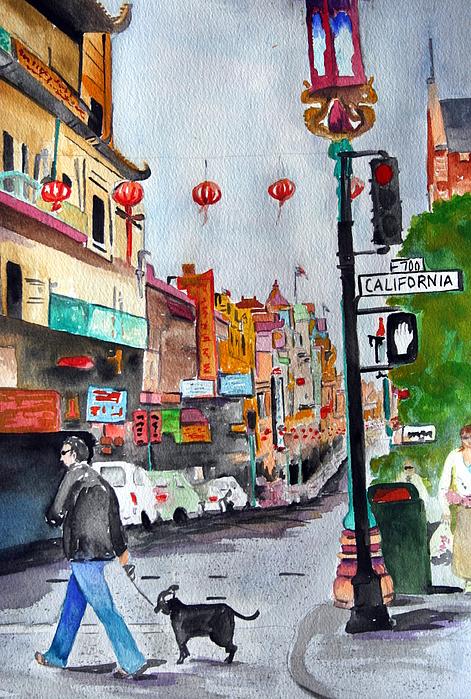 Julie Lueders  - California Chinatown