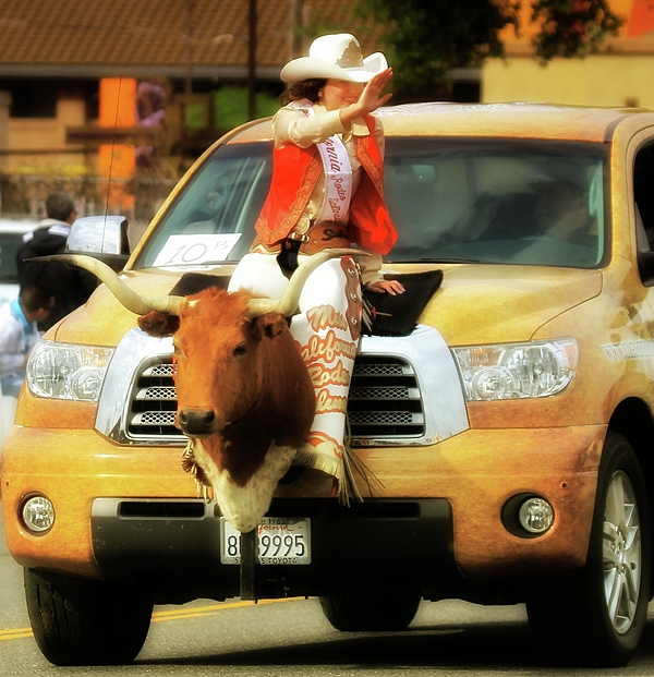 Cowgirl Photograph - California Rodeo Queen 2010 by Gus McCrea