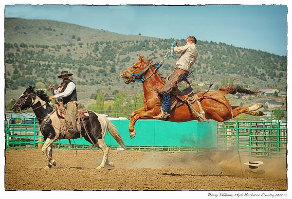 Californios Burns Ranch Bronc 2012