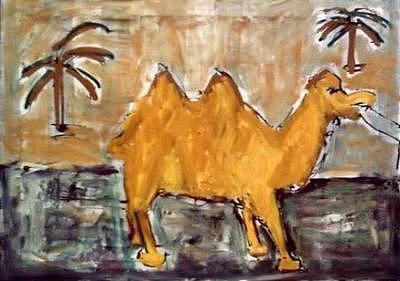 Camel Painting by Dragan Katanic