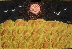 Campo Di Grano Painting by Rosa Dascola Aloi