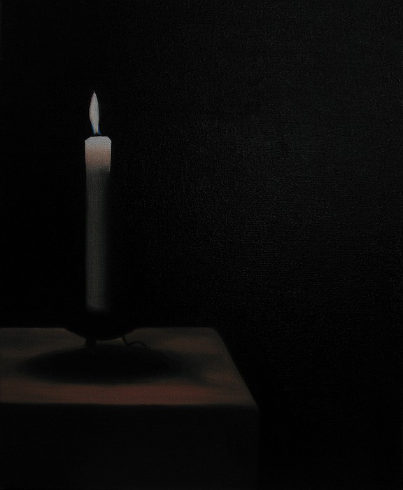 Candle Painting - Candle by Tero Nurminen