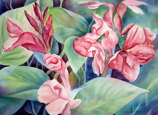 Canna Painting - Canna by Deborah Ronglien