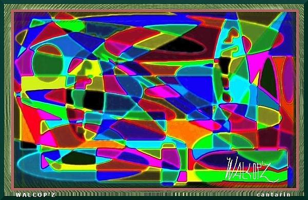 Cantarin Digital Art by Walcopz Valencia