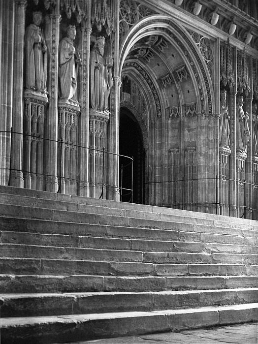 Religious Photograph - Canterbury Cathedral Choir Entrance Canterbury England by Richard Singleton