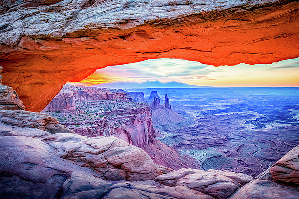 Mesa Photograph - Canyon Reflections by David Cote