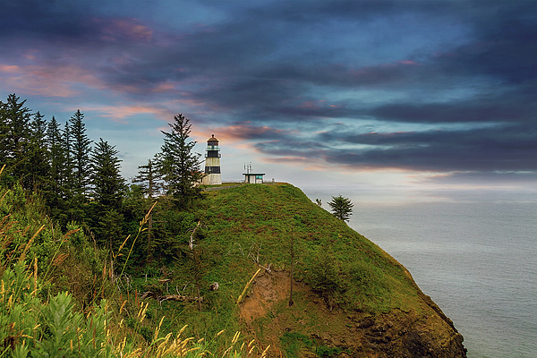 Cape Disappointment Photograph - Cape Disappointment After Sunset by David Gn