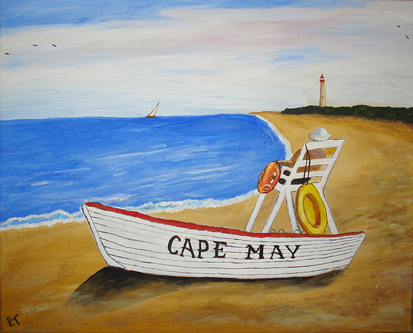 Cape May Painting - Cape May by Rita Tortorelli