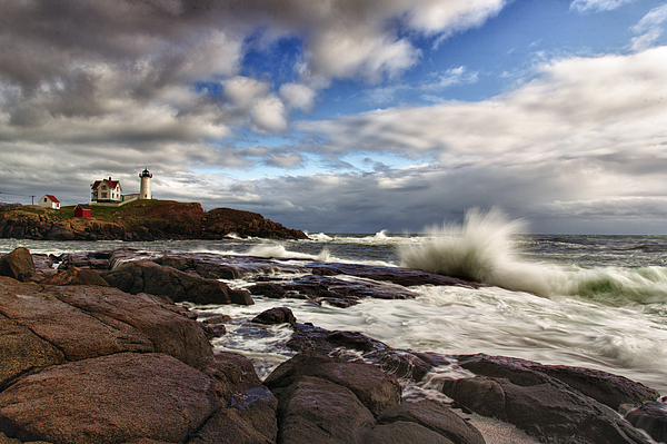 Maine Photograph - Cape Neddick Maine by Rick Berk