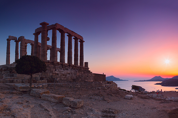 Chios Photograph - Cape Sounion by Emmanuel Panagiotakis