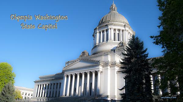 Washington Photograph - Capitol by Larry Keahey