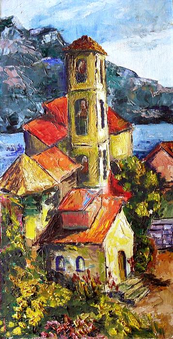 Mission Painting - Capri by Olga Kaczmar