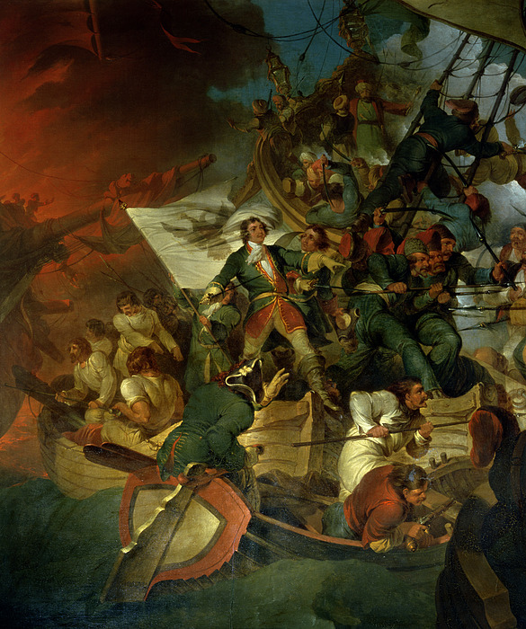 Capture Painting - Capture Of Azov by Sir Robert Kerr Porter