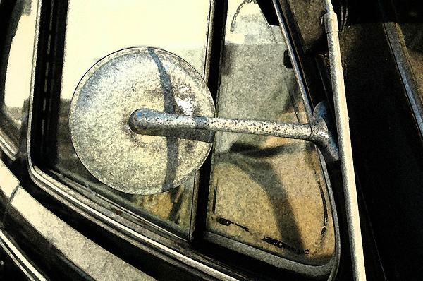 Car Photograph - Car Alfresco I by Kathy Schumann