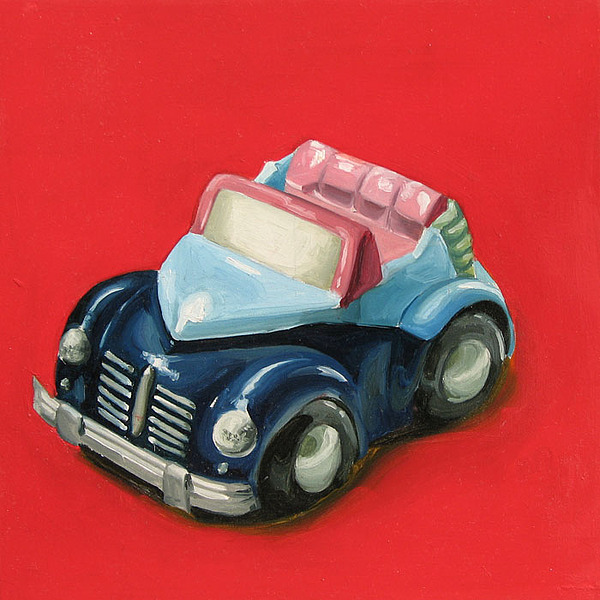 Car Painting - Car by Lucia Rodriguez