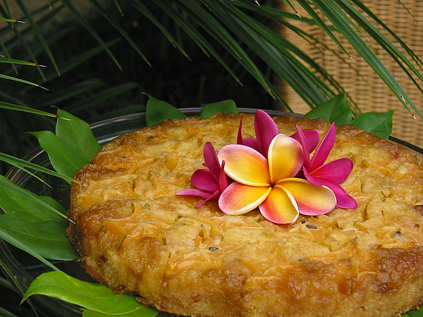 Cake Photograph - Carambola Cake by Connie Anderson